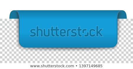 Long Blue Covert Marker Banner Transparent Stock photo © limbi007