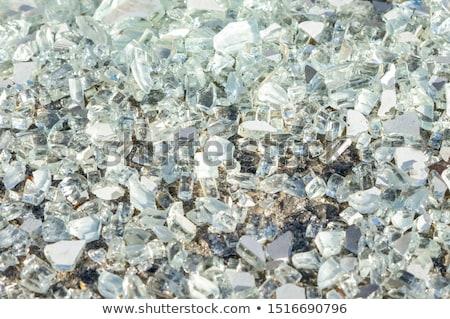 shards of broken glass on floor Stock photo © dolgachov