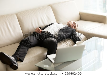 Employee with too much work taking it home Stock photo © Elnur