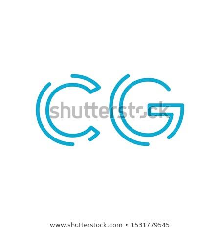 линейный письме cg линия Сток-фото © kyryloff