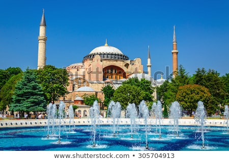 Hagia Sophia, Christian patriarchal basilica, imperial mosque an Stock photo © boggy