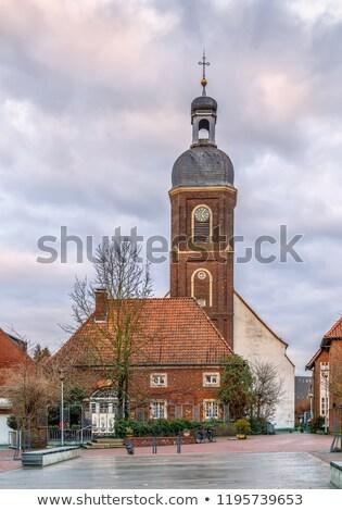 Маврикий Церкви Германия католический центр небе Сток-фото © borisb17