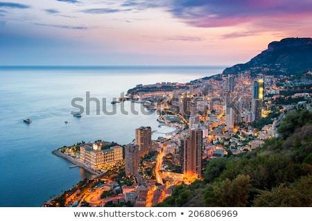 Mônaco cityscape colorido ver Foto stock © xbrchx