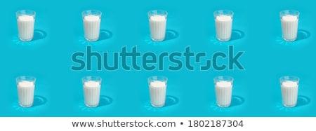 здорового органический жидкость молочная молоко химический стакан Сток-фото © robuart