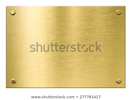 fogkő · díj · izolált · fehér · fém · sportok - stock fotó © dehooks