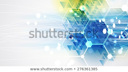 Maakt · een · reservekopie · elektronische · circuit · board · abstract · groene · computer - stockfoto © orson