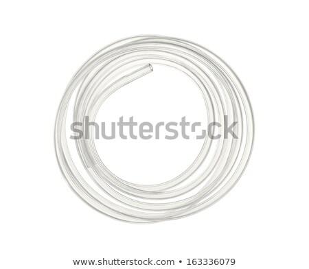 creux · outil · blanche · objet · trou · ceinture - photo stock © prill