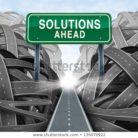 Solutions ahead Stock photo © leeser