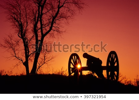 Civil War Cannon Stock photo © piedmontphoto