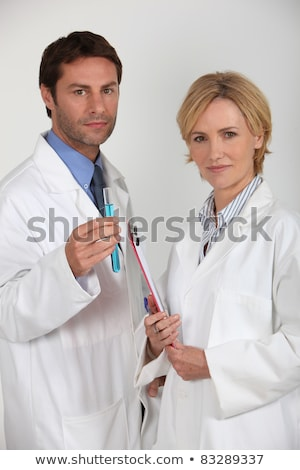 Two medical professionals stood together Stock photo © photography33