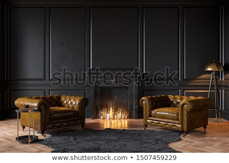black and white luxury room stock photo © imaster