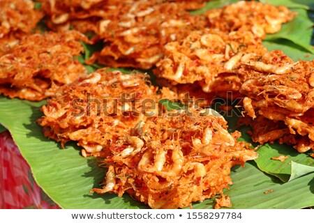 fried shrimp cake stock photo © pongam