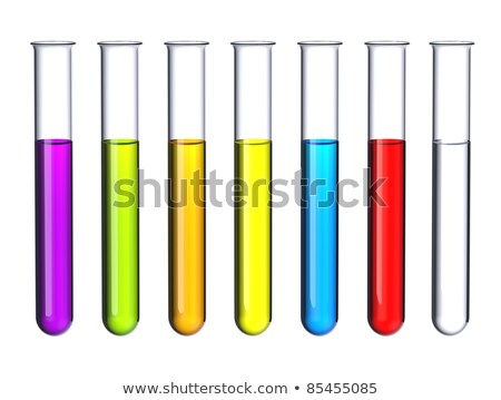 test tube with violet liquid Stock photo © gewoldi