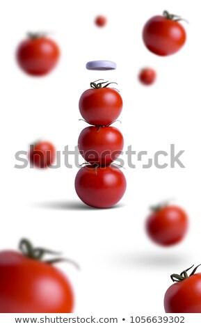 Natural ketchup, from tomatoes Stock photo © ozaiachin
