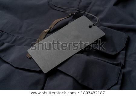 Black price tag Stock photo © broker