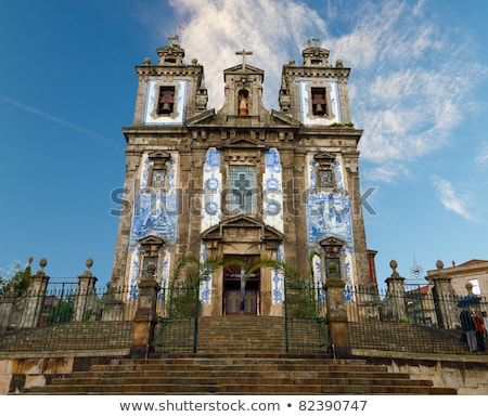 santo ildefonso church in porto portugal Stock photo © travelphotography