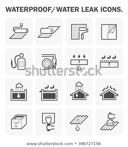 leaking resin Stock photo © prill