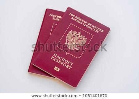 İngilizler · pasaport · beyaz · iş · seyahat · Avrupa - stok fotoğraf © ruslanomega