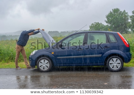 Man with a car breakdown Stock photo © photography33