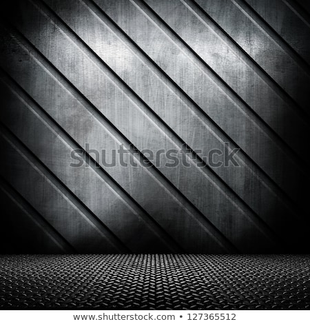 White industrial background with bars
