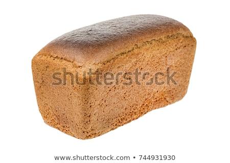 коричневый хлеб буханка белый природы здоровья Сток-фото © designsstock