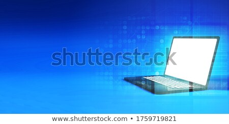 Brand New Laptop Is Now Out In The Market Foto stock © kentoh