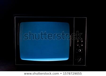 Television set  Stock photo © ABBPhoto