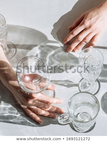 óculos branco projeto compras verde de vendas Foto stock © Discovod