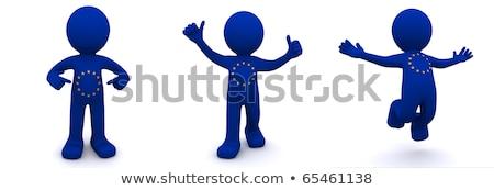 dumny · 3d · osób · człowiek · osoby · działalności · szczęśliwy - zdjęcia stock © kirill_m