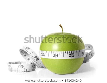 Fita métrica isolado fruto fundo café da manhã Foto stock © M-studio