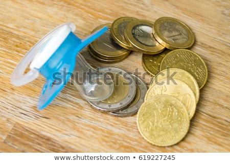 chupeta · dinheiro · símbolo · custo · bebê - foto stock © gewoldi