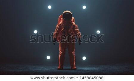 Avançado tripulação escapar espaço terno 3d render Foto stock © Elenarts