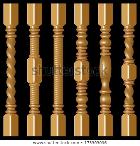 Legno duro dettaglio primo piano bianco texture legno Foto d'archivio © FOKA