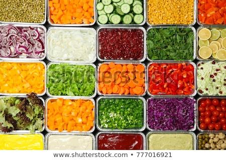 Salad variety on a buffet  Stock photo © elxeneize