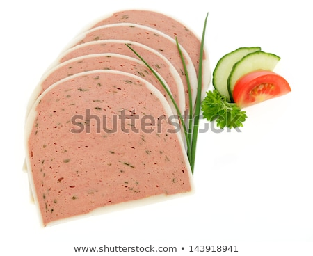 Foie Gras with Tomato and Parsley Stock photo © bigandt