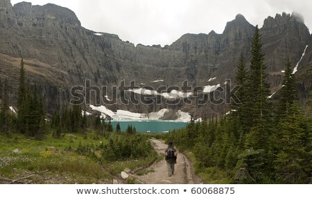 Headwall At Iceberg Lake Stock photo © searagen