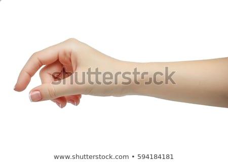 pick up gesture  Stock photo © elwynn