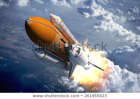 Stock photo: tank with rockets