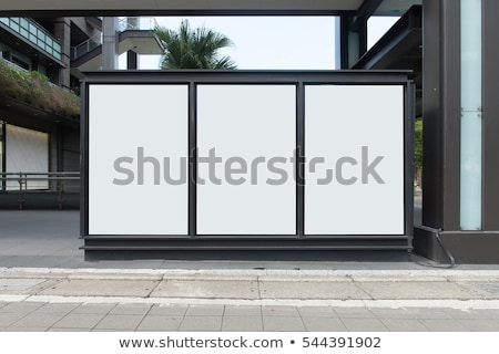 blank poster as copy space template for your design stock photo © stevanovicigor