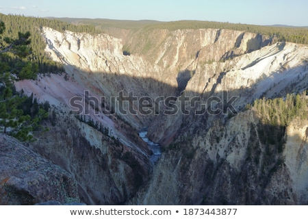 yellowstone river flowing through canyon stock photo © tab62