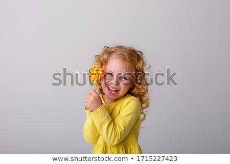 séduisant · jeune · femme · permanent · regarder · sweet - photo stock © neonshot