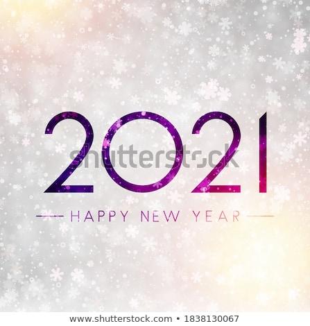 Light Lilac Snowflakes Stock photo © hlehnerer