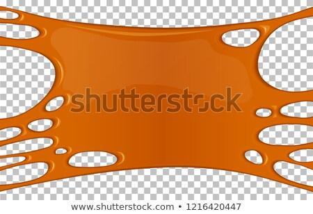 Oozing Orange Slime Stock photo © ca2hill