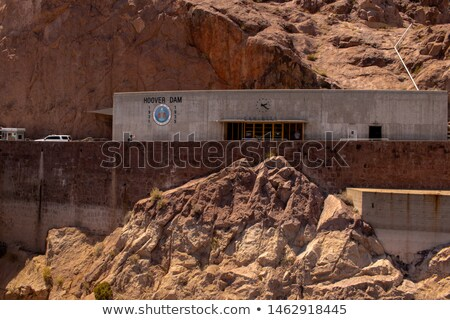 Hoover Dam visiteur bâtiment centre touristes Photo stock © Rigucci