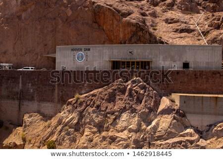 Hoover · Dam · látogató · épület · központ · turisták · elvesz - stock fotó © Rigucci