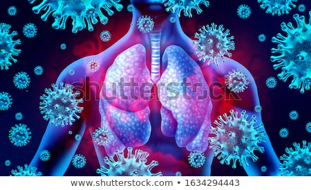 Infection diagnostic médicaux imprimé rouge pilules Photo stock © tashatuvango
