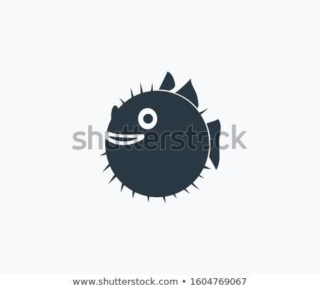 рыбы · изолированный · белый · рот · подводного · животного - Сток-фото © calek