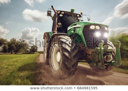 ファーム · トラクター · 作業 · フィールド · 新しい - ストックフォト © stokkete
