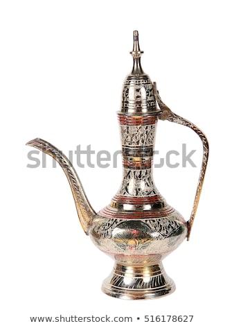 teapot isolated on white background Stock photo © ozaiachin