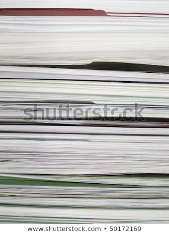 Backlog File Folders Paperwork Busy Tasks Stock photo © iqoncept